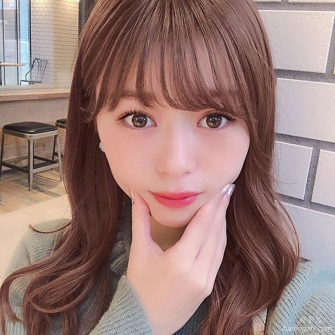 21岁日本模特石崎日梨,天使面孔,靓丽佳人_8