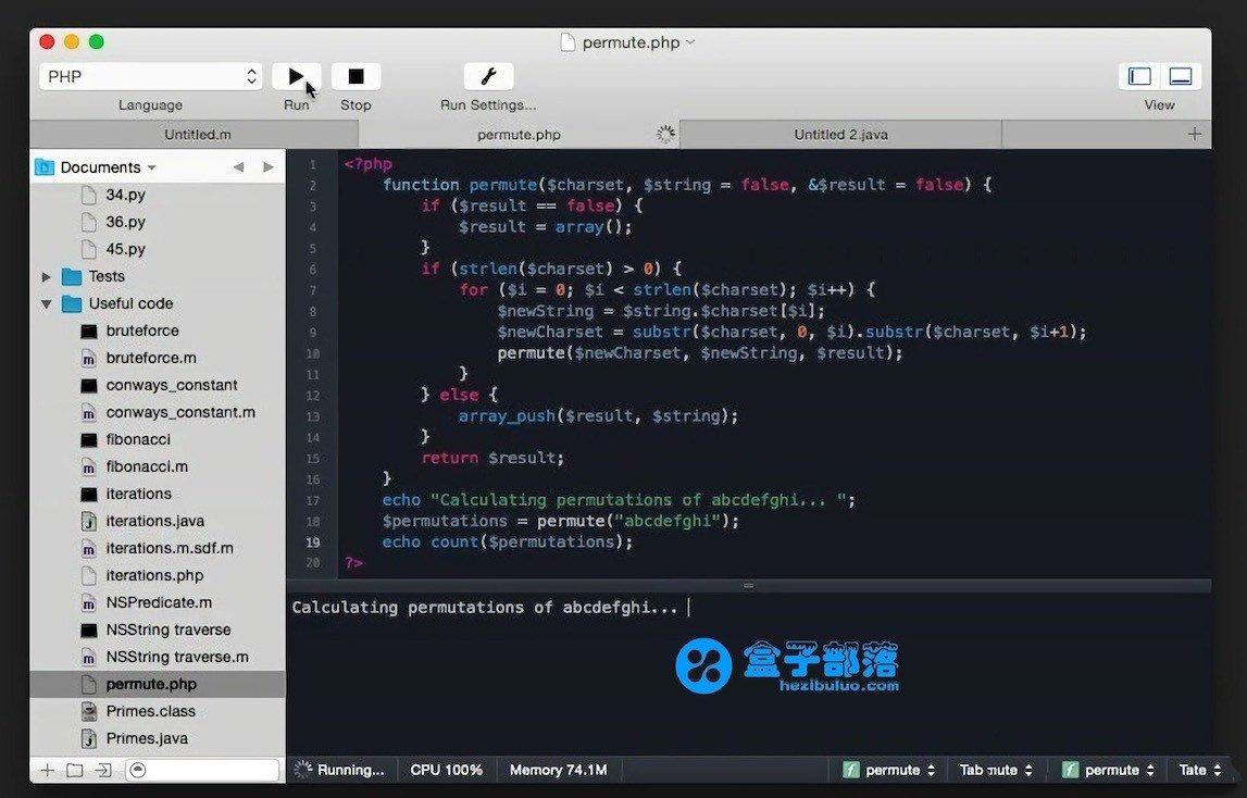 CodeRunner v3.0.1 一款运行各种小代码的多语言编程神器