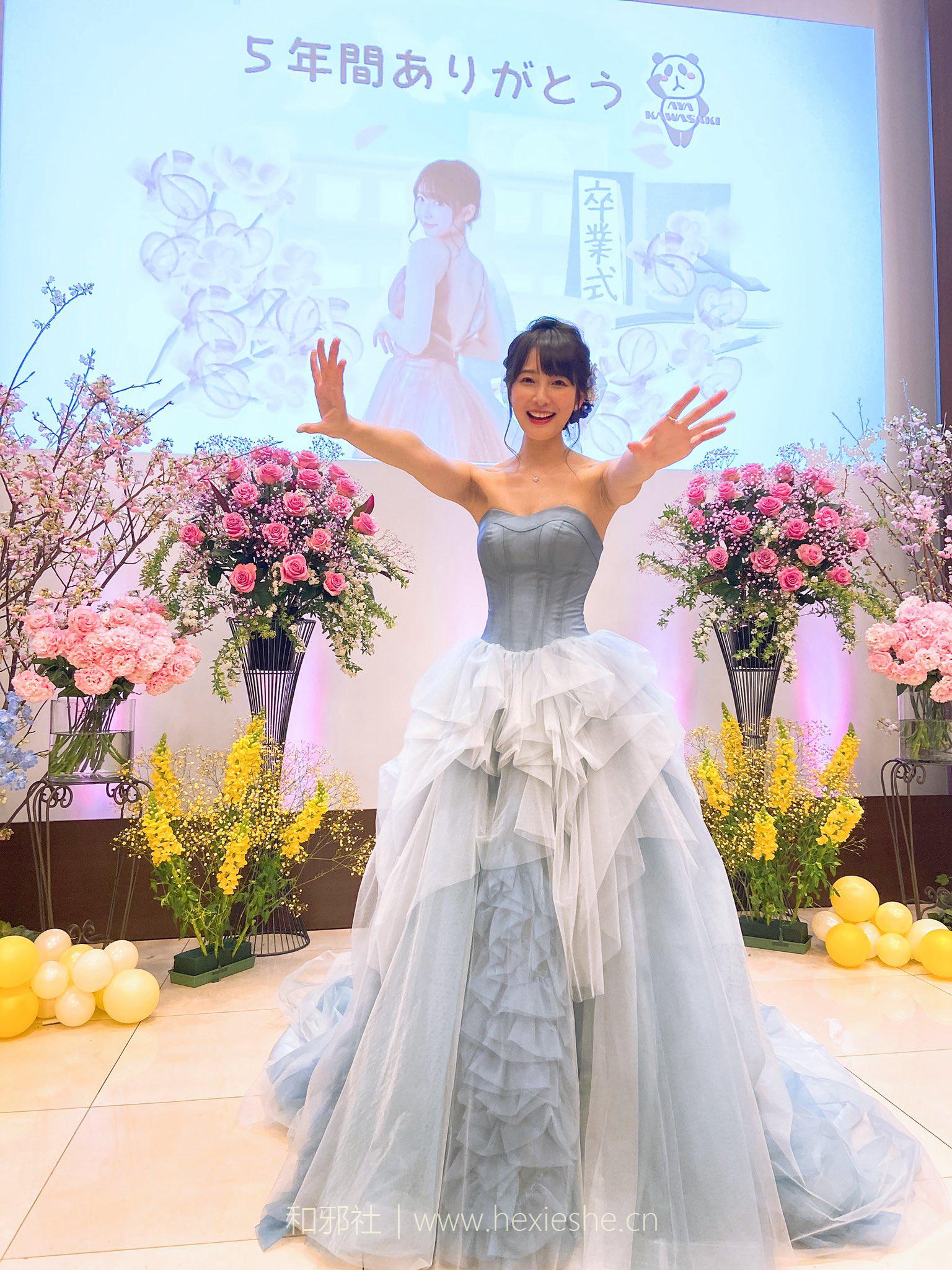 日本写真美少女川崎绫( 川崎あや)宣布引退 希望下个奥运会前结婚