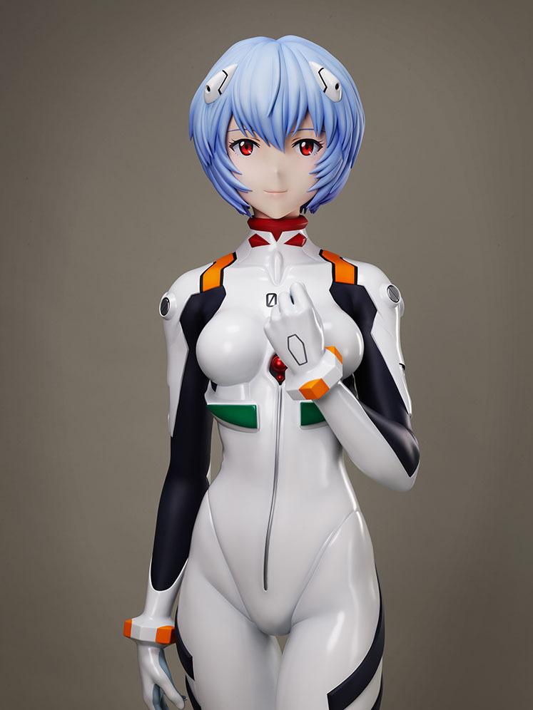绫波丽 新世纪福音战士 等身模型_01