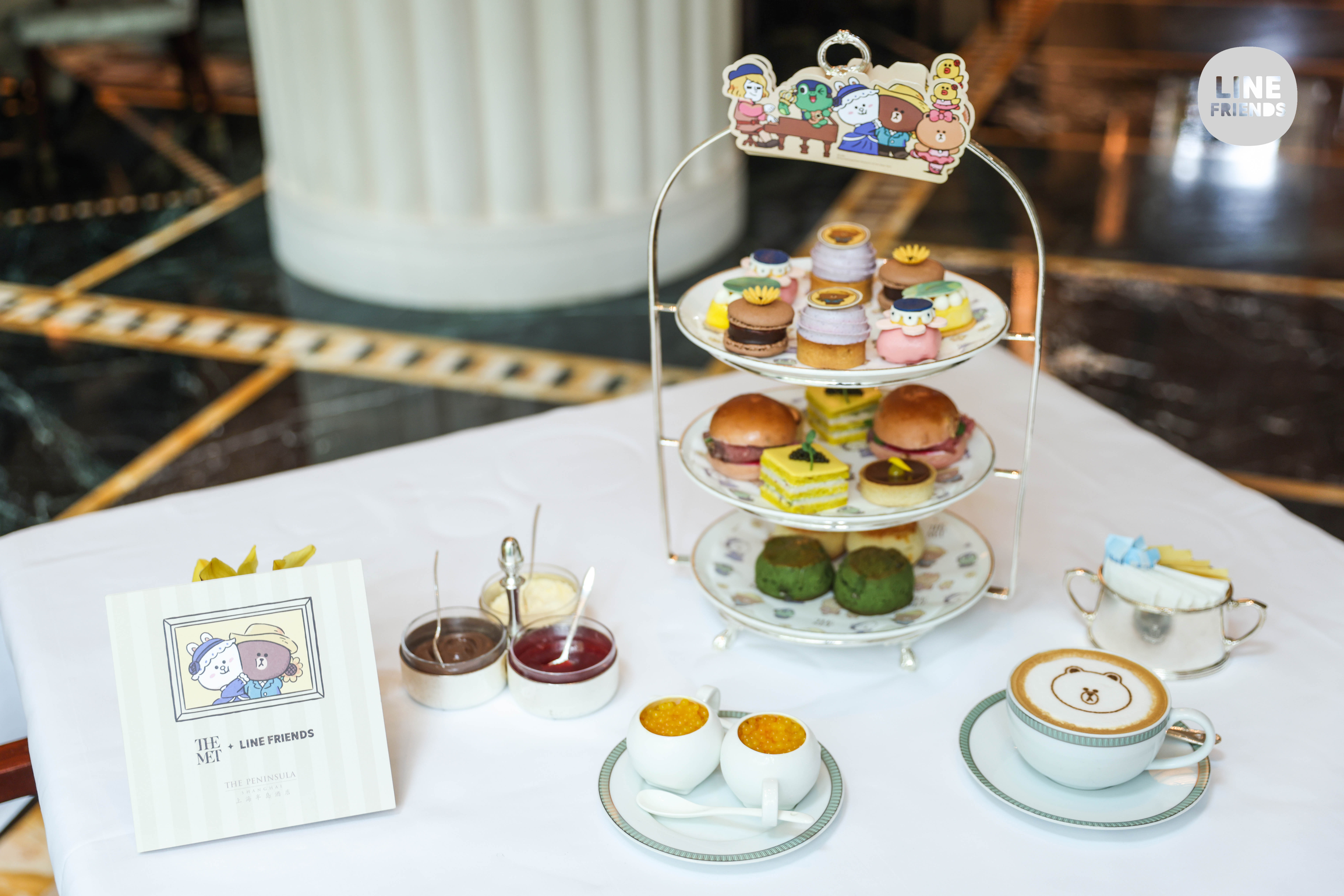 上海半岛酒店萌趣艺术限定下午茶