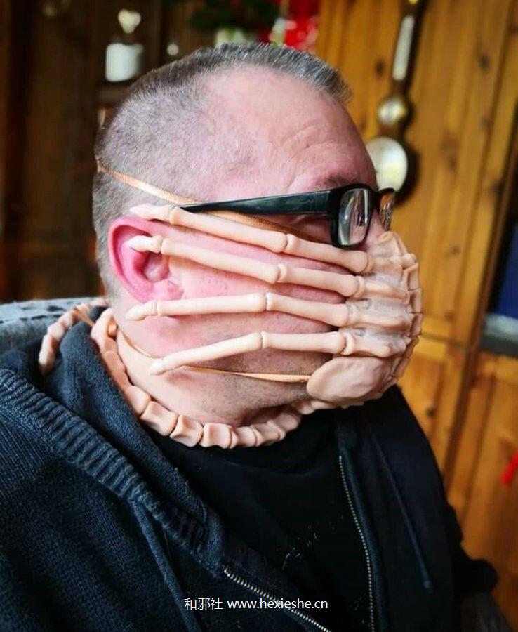 alien-inspired-xenomorph-facehugger-protective-mask