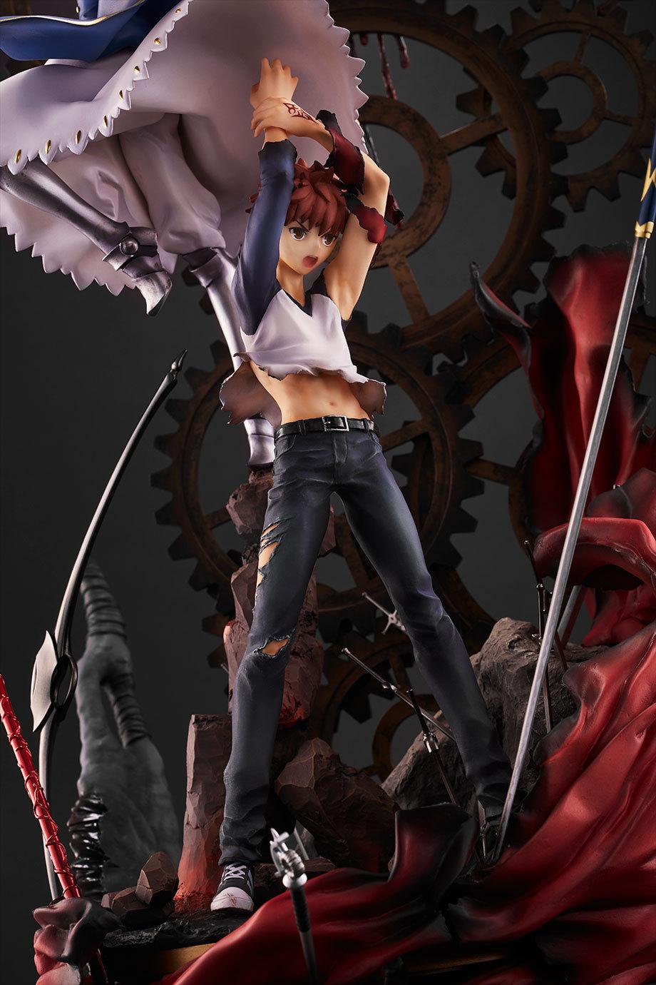 Fate/stay night 15周年纪念Figure -轨迹- Aniplex+ 卫宫士郎
