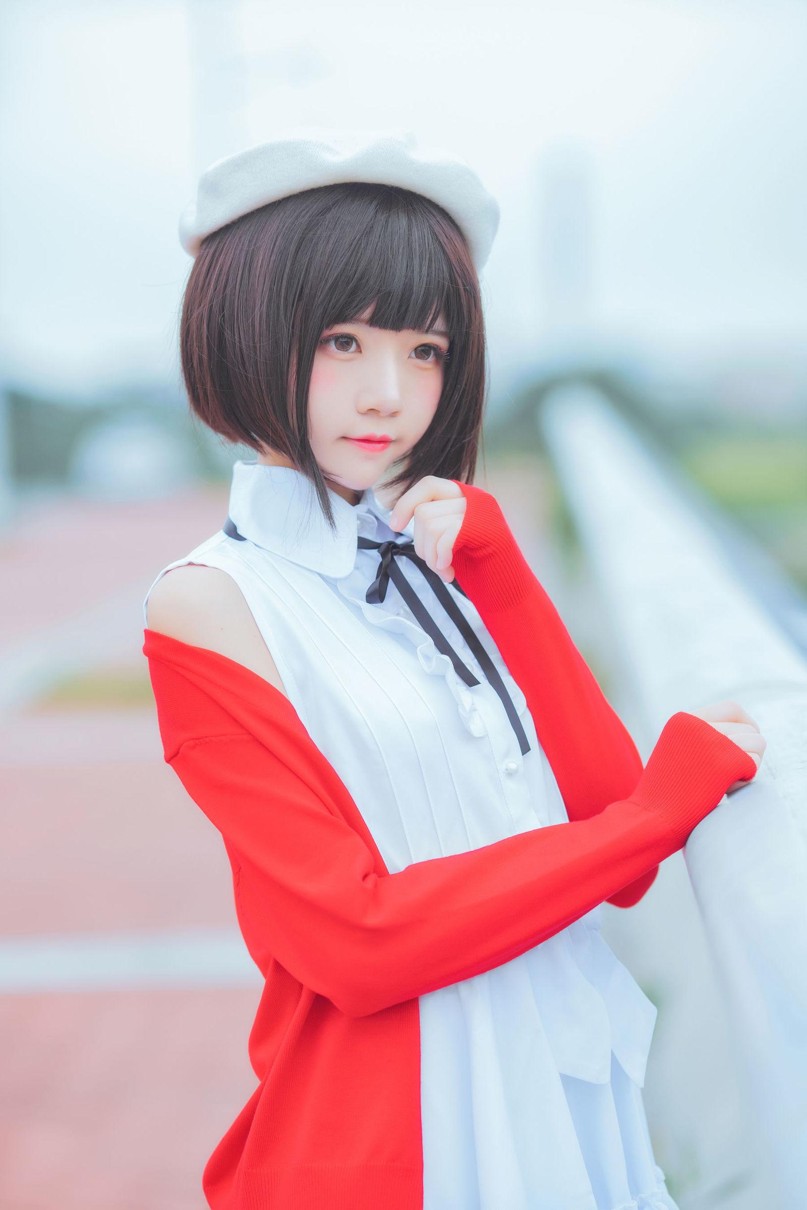 加藤惠 桜桃喵 COSPLAY01