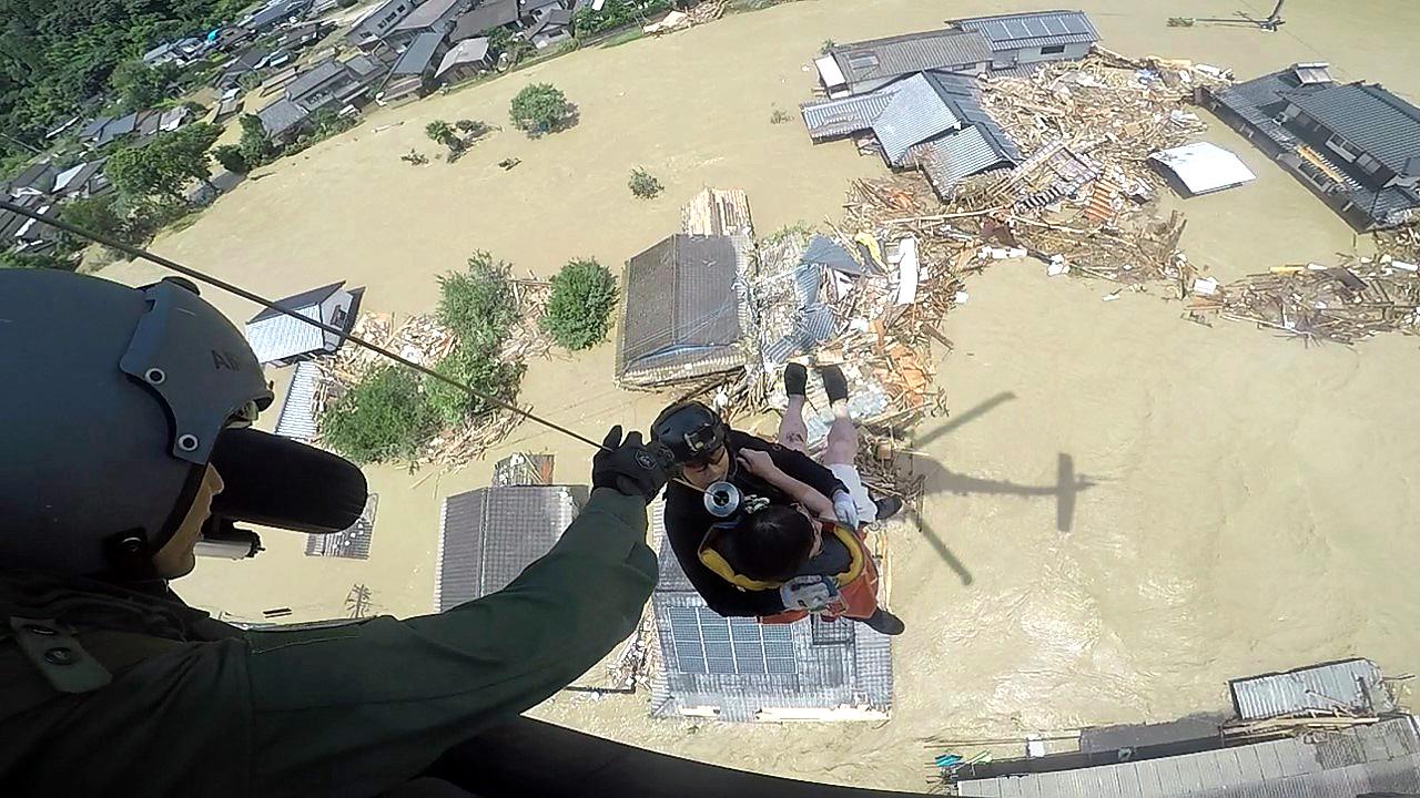 九州南部 水灾