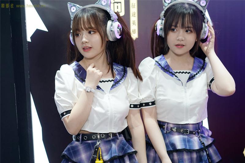 ChinaJoy惟妙惟肖双胞胎_和邪社17