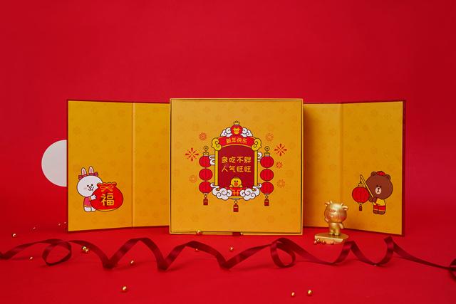 LINE FRIENDS 牛年礼盒OT0310110001(10)