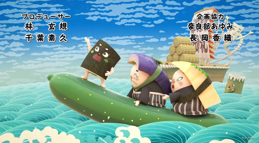 动画《寿司大相扑》将寿司和相扑有机结合在一起 (6)