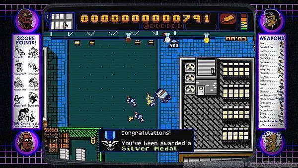 游戏《Retro City Rampage》让重回经典向骨灰级游戏致敬的体验保证有趣 (13)