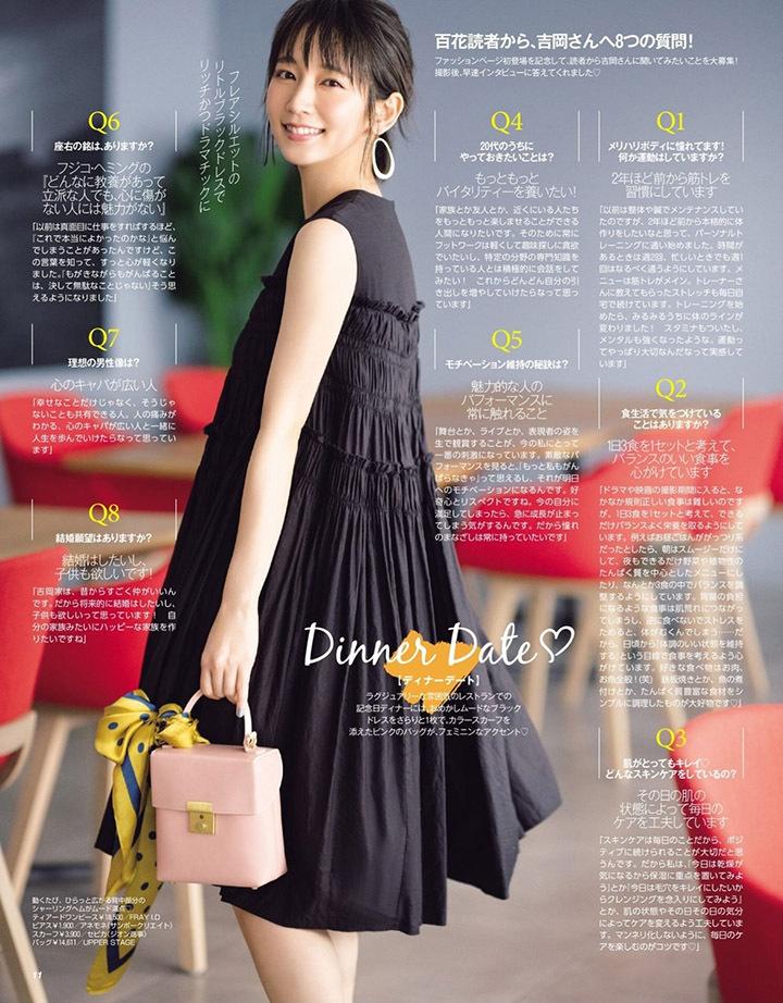 吉冈里帆再次出现在花花公子时尚杂志彰显自己性感可爱的写真作品 (17)