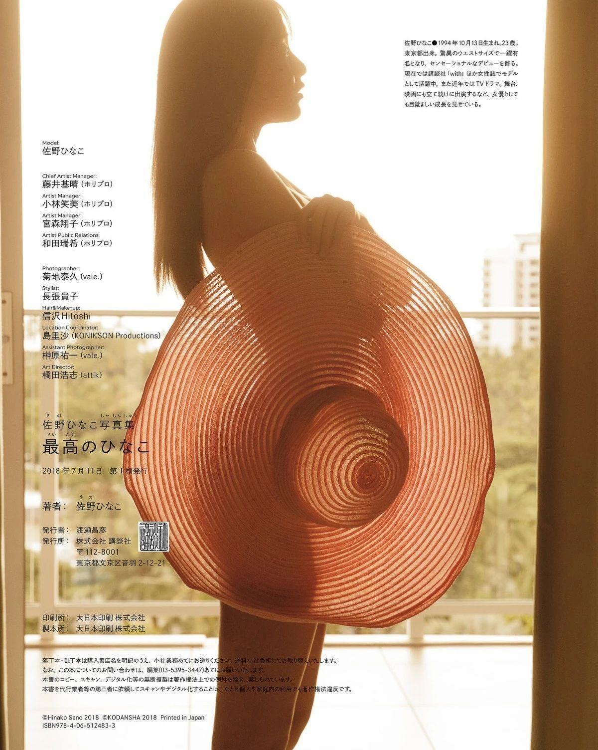 以惊人的纤细而成名的辣妹佐野雏子写真作品 (10)