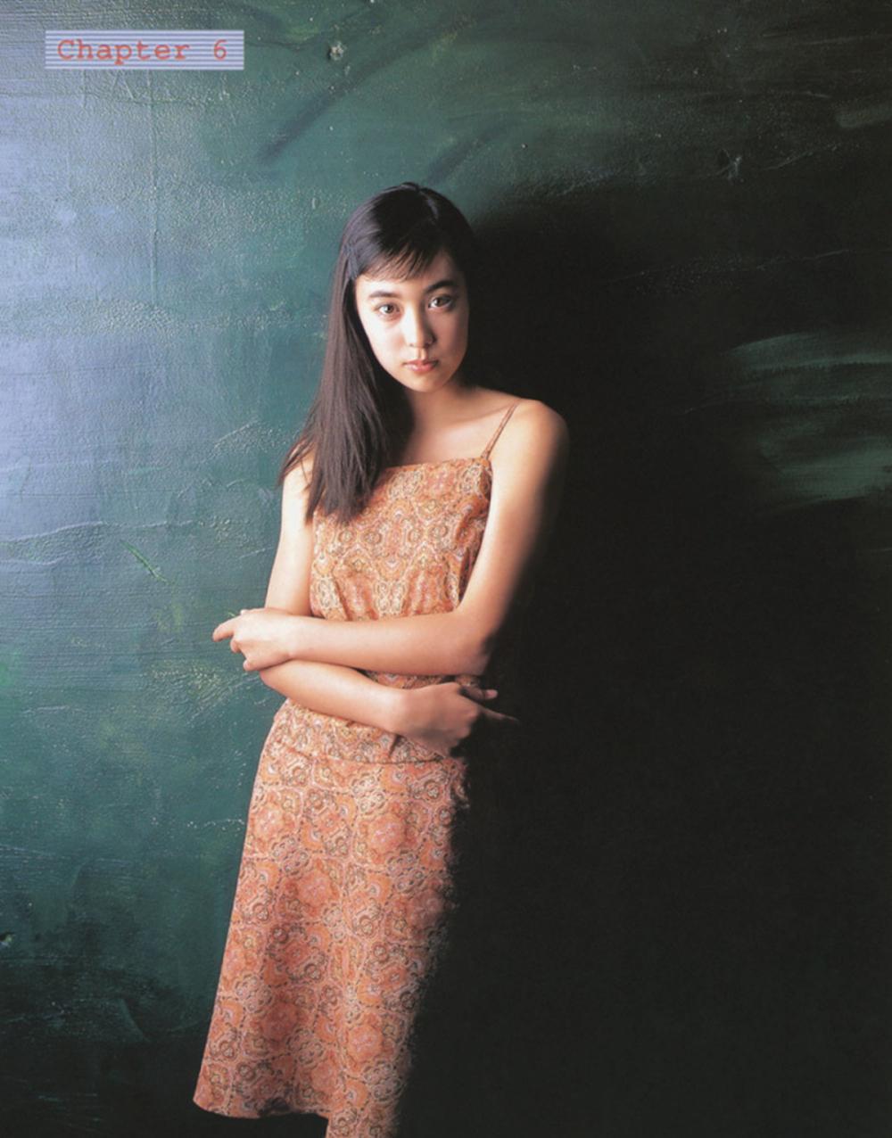 被锁在保险柜里的日本艺人吹石一惠的写真作品 (17)