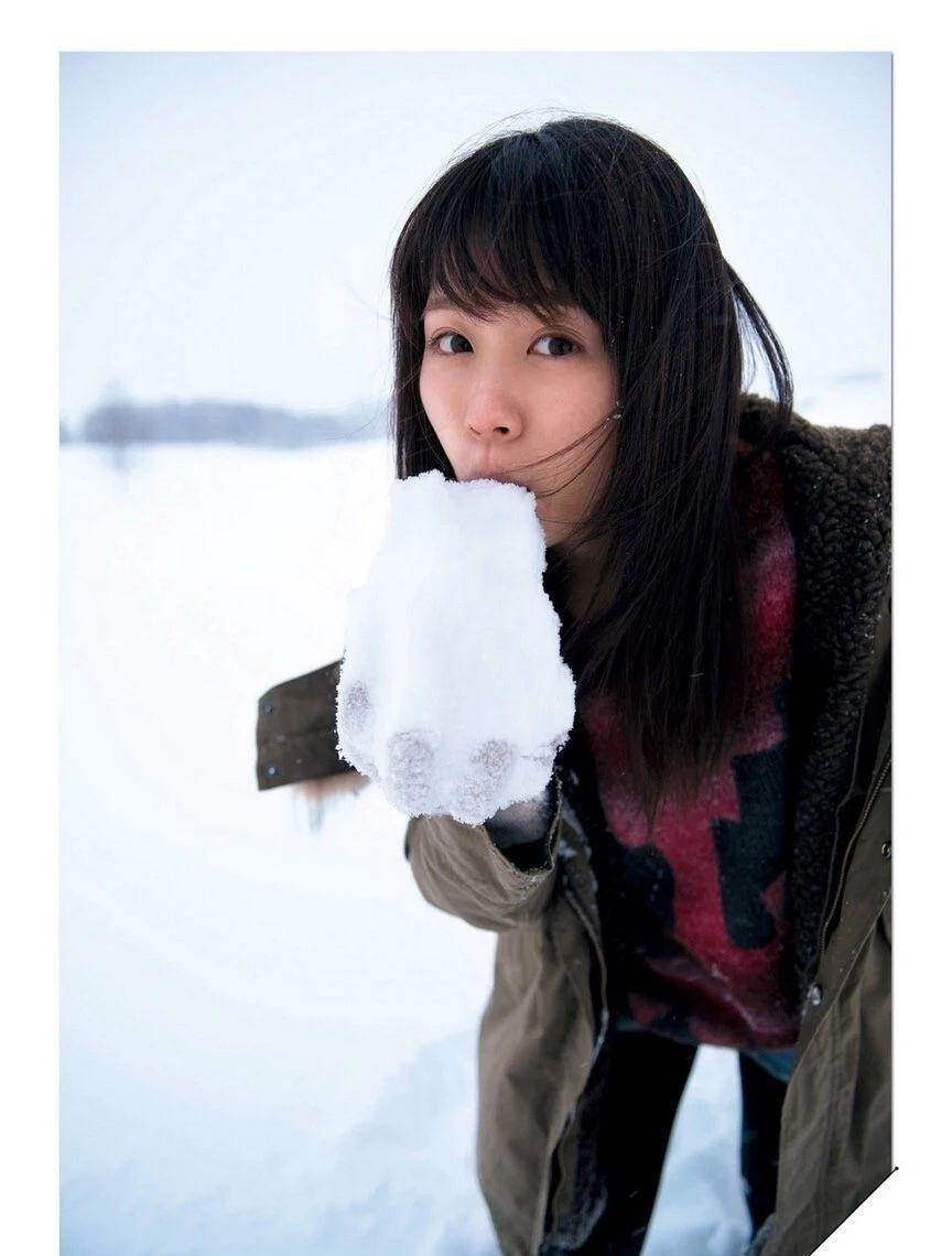 清纯空灵气质的有村架纯写真作品 (48)