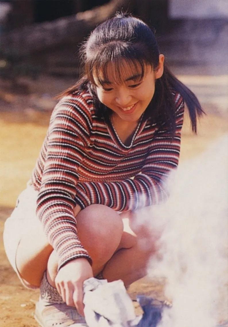清纯玉女17岁情书中的酒井美纪写真作品 (9)