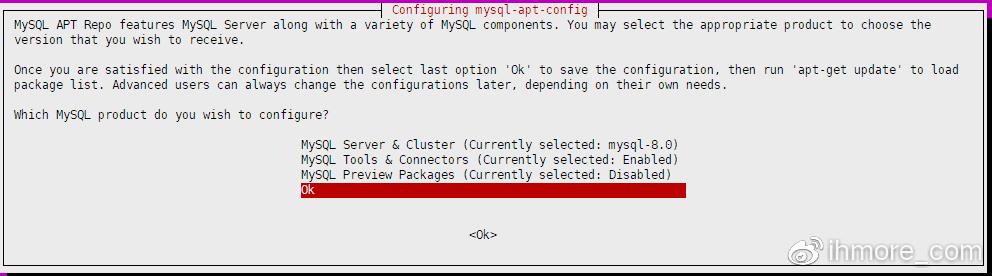 安装MySQL存储包