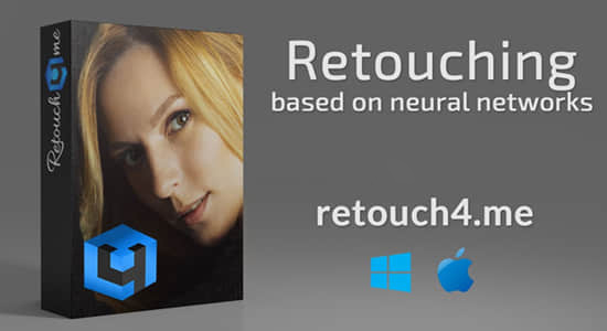 [PS磨皮插件] [插件发布] Retouch4me 6套合集 AI人工智能美容润饰中性灰均匀肤色清洁背景+AI磨皮动作
