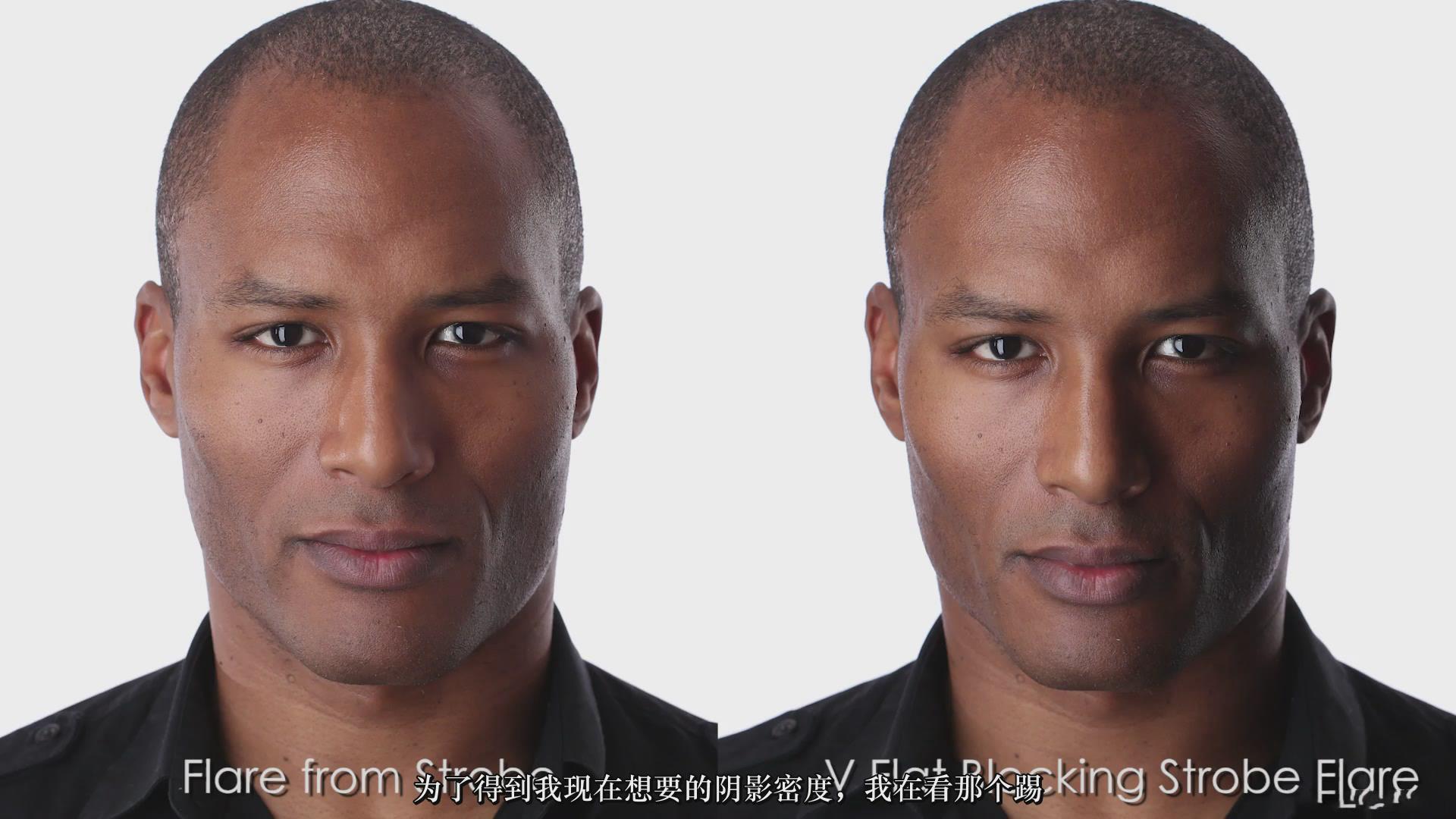 摄影教程_Fstoppers-彼得·赫利(Peter Hurley)完美头像人像面部布光教程-中文字幕 摄影教程 _预览图12