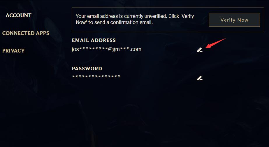 LOL美服pbe测试服 绑定邮箱教程