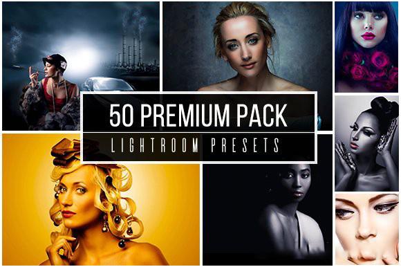 50个高级人像修饰调色免费Lightroom预设包 50 Premium Lightroom Presets Lightroom预 (2)