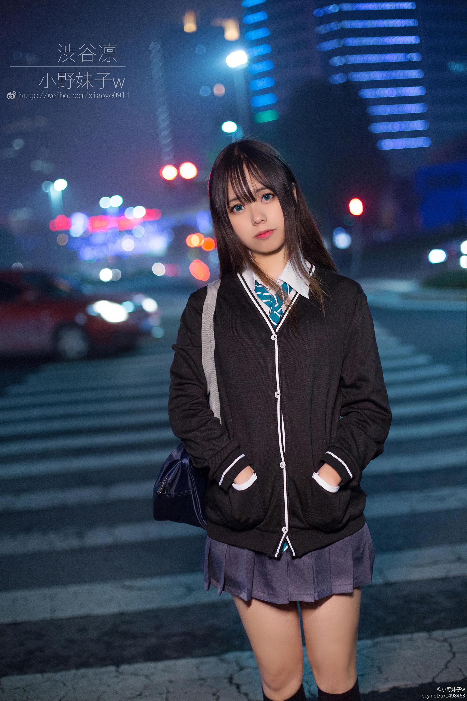 小野妹子w-偶像大师灰姑娘女孩(涩谷凛) [7P-4MB]作品 (3)