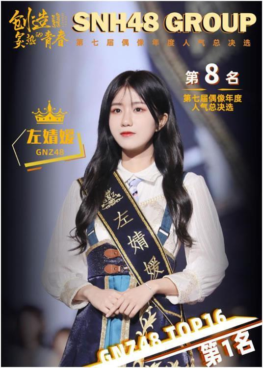 SNH48 GROUP第七届总决选收官 GNZ48 16人进圈 刷新姐妹团进圈人数新高