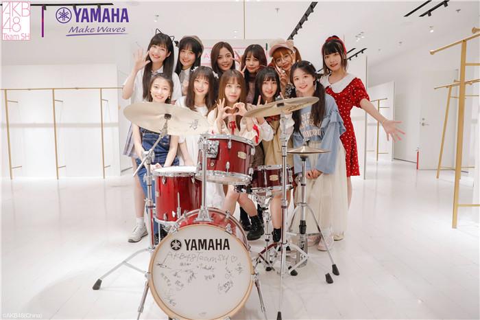 AKB48 Team SH携手雅马哈创少女偶像乐队 开启偶像乐队的新尝试