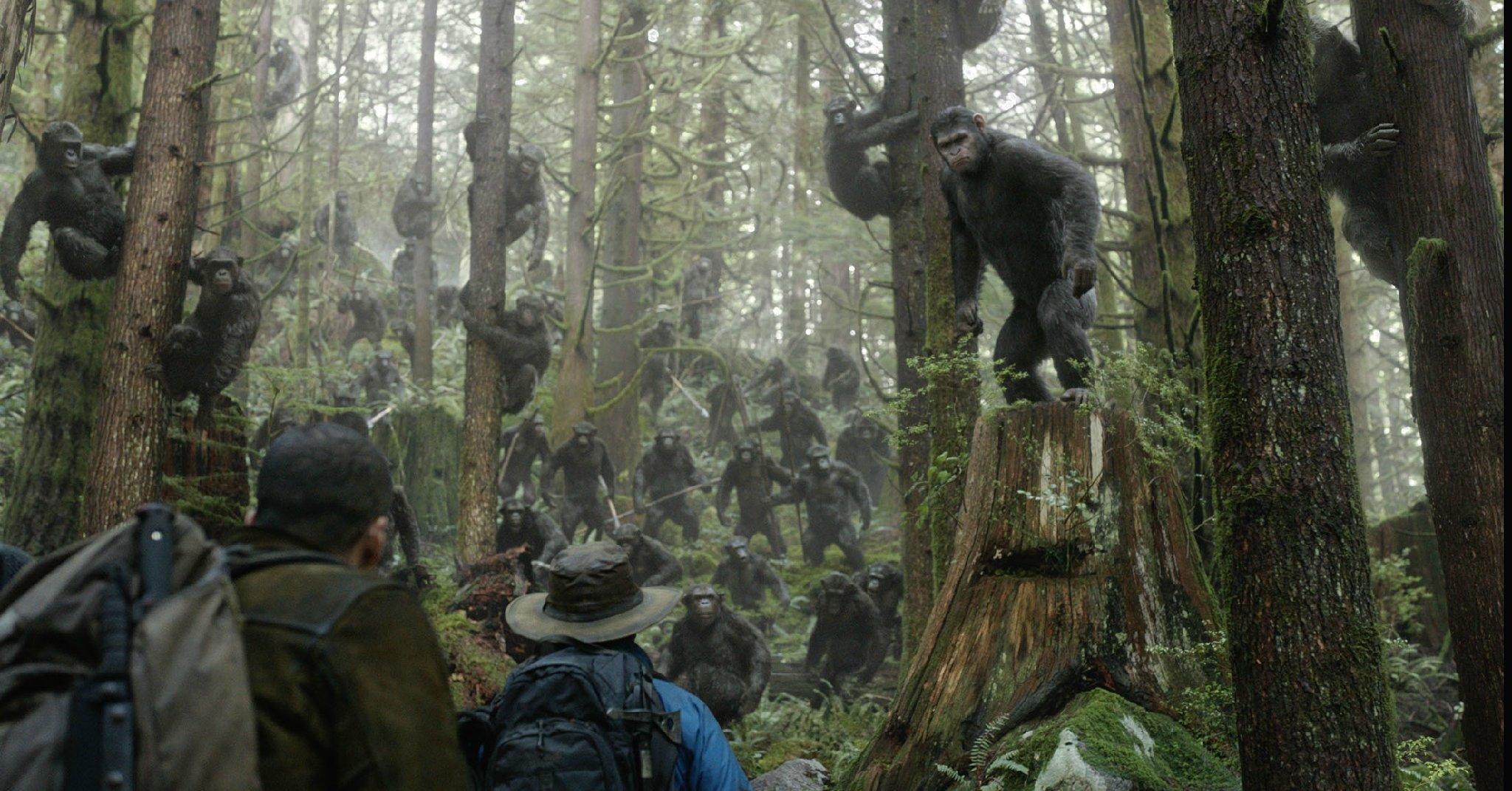 2014.猩球崛起2:黎明之战.Dawn.of.the.Planet.of.the.Apes.百度云高清下载图片 第3张