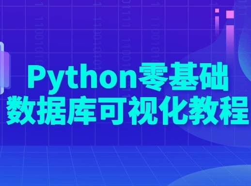 Python 零基础数据库可视化课程