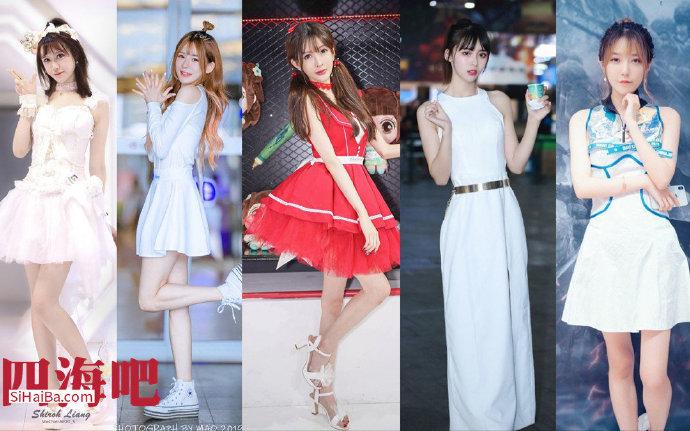 【4K】2020ChinaJoy showgirl合集 你会pick那个小姐姐呢? 福利吧 第1张
