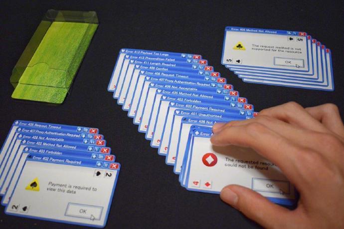 岛国创意扑克,铺开在桌面上就能让你窒息