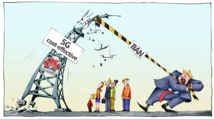 中国修了条网线,竟然把美国给逼急了